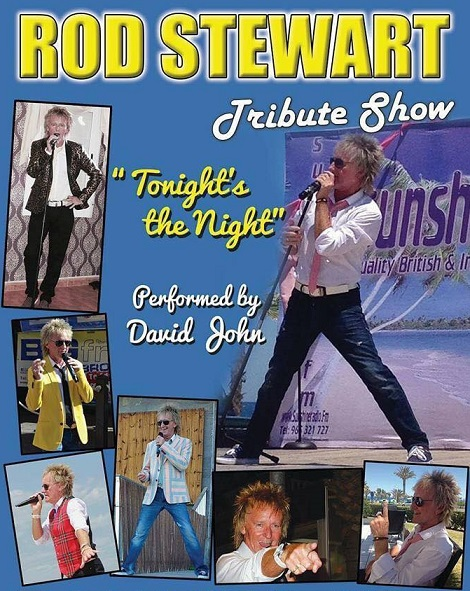 Rod Stewart tribute David John!