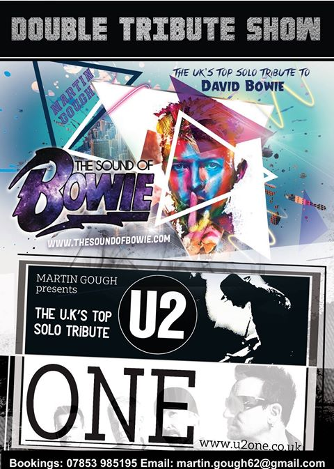 The voice of David Bowie! Plus his U2 show!