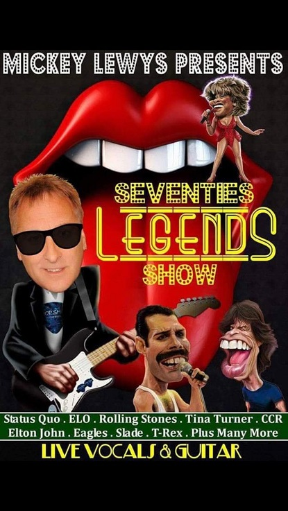 Mickey Lewis & his Legends show!