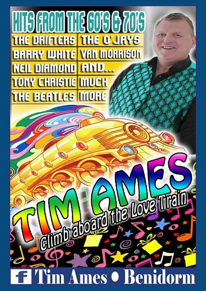 Tim Ames! A night of 60's and 70's! Free entry!