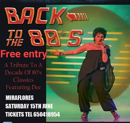 Back to the 80's! Free entry