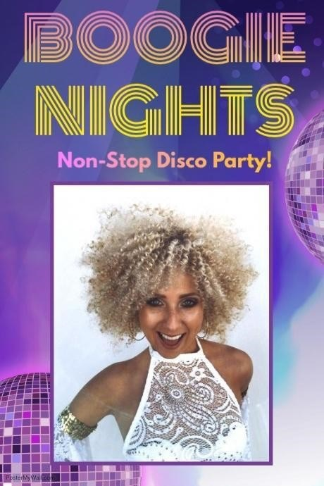 Boogie night! Non stop disco party!
