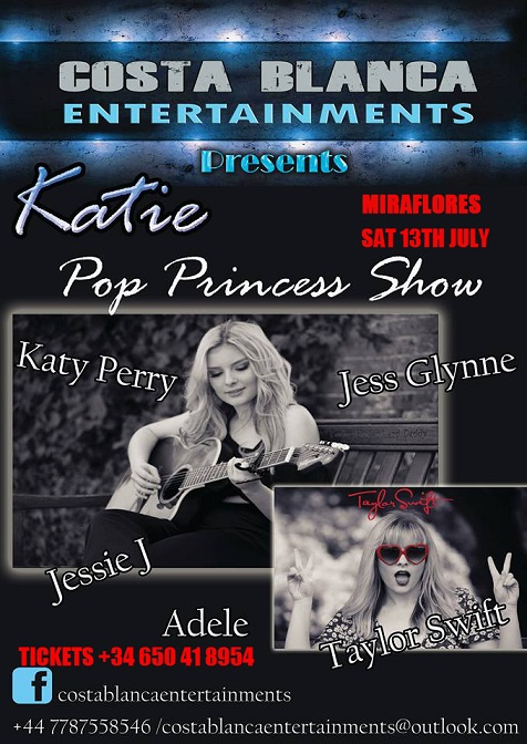 Pop Princess with Katie! Free entry!