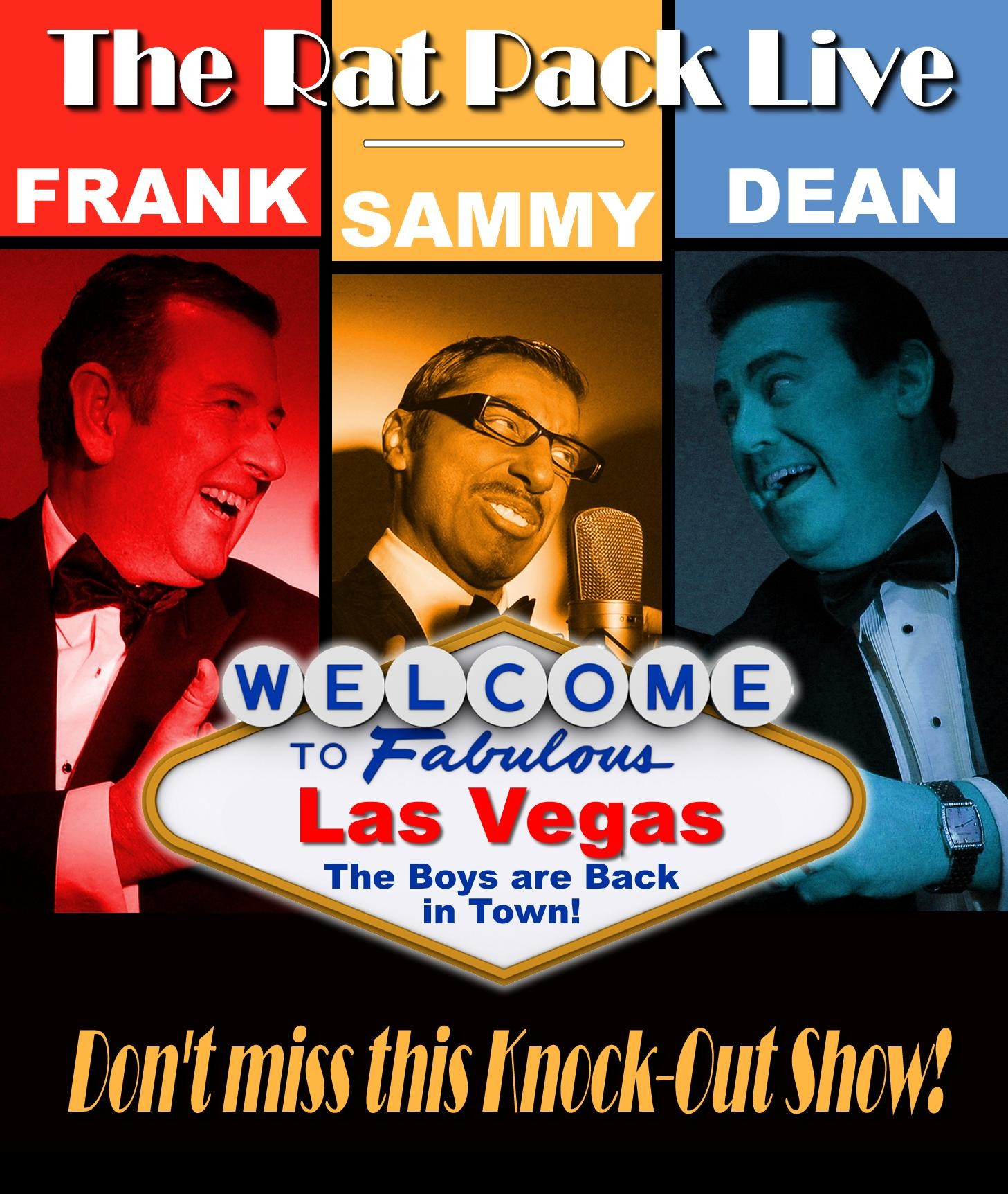 The Rat Pack tribute!