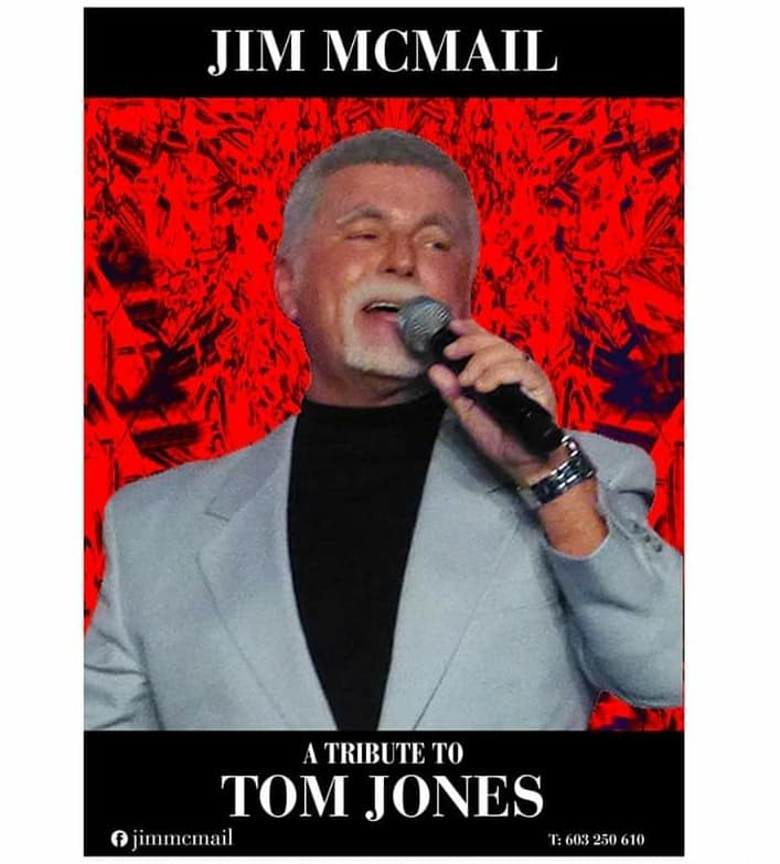 Tom Jones tribute with Jin McMail!